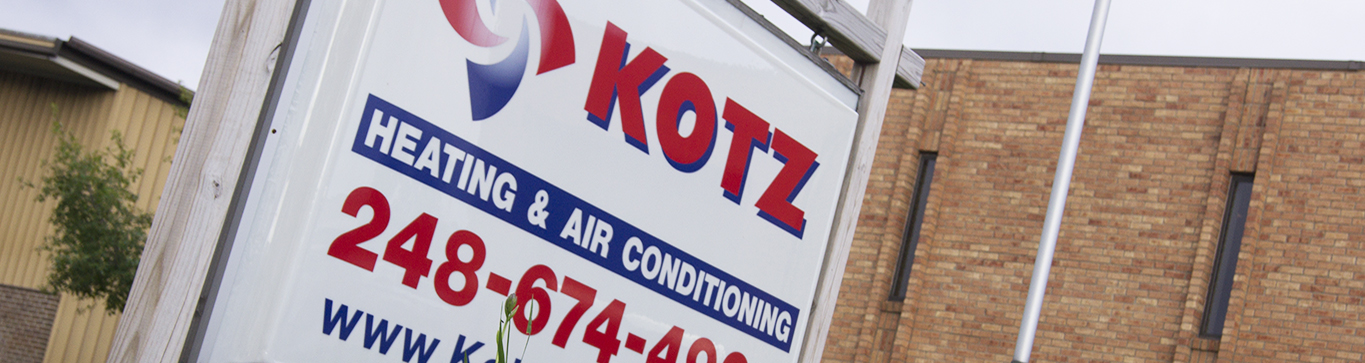Kotz sign closeup