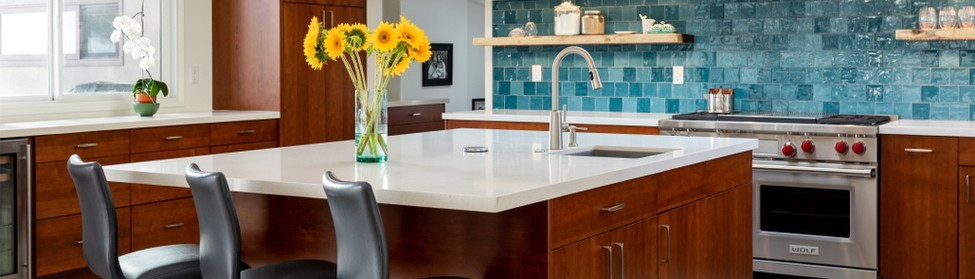 Kotz plumbing showroom has sampled what's trending for 2019 when it comes to kitchen design ideas